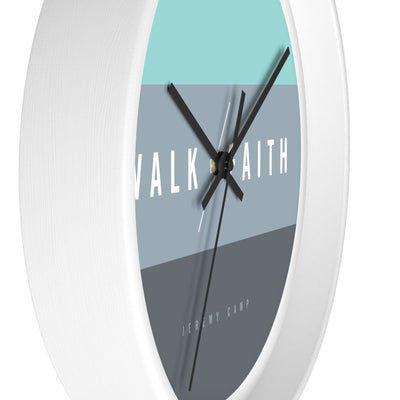 Walk By Faith - Wall clock