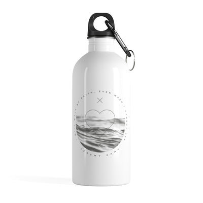 Walk By Faith - Stainless Steel Water Bottle