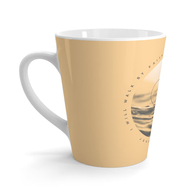 Walk By Faith - Latte mug