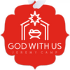 God With Us - Red Metal Ornaments