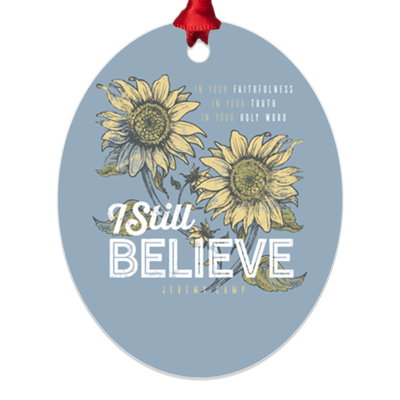 Jeremy Camp Christmas - Metal Ornaments