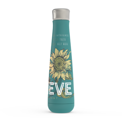 I Still Believe -Flower -Peristyle Water Bottle