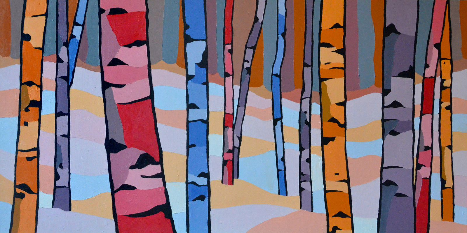 Birch-Forest-Winter-Canadian-Tree-Art-For-Sale