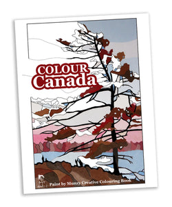 Colour Canada Adult Colouring Book