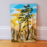 "Laurel Creek Pine 20""W X 30""H Oil Painting"