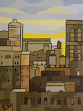"Midtown NYC 12""w x 16""h"