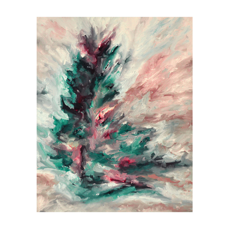 Windswept Teal Pine