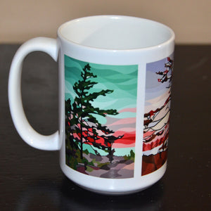 Windswept Pines Large 15oz Mug
