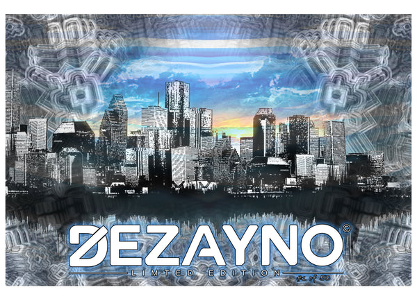 Dezayno Skyline Limited Edition Organic T-Shirt Graphic Design