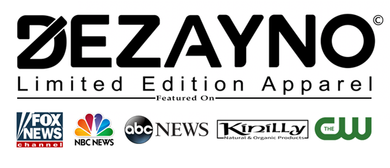 Dezayno Organic Apparel Featured on Fox, NBC, ABC, Kinilly, The CW and more