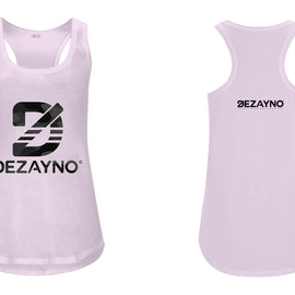 Women's Organic Racerback Tank Top with Camo Dezayno