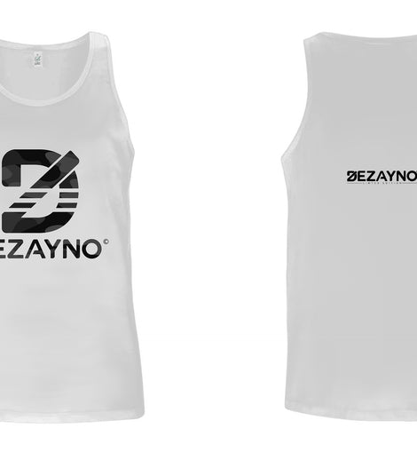 Men's Organic Tank Top with Camo Dezayno Logo Limited Edition by Dezayno