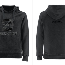 Organic Cotton Hoodie with Camo Style Dezayno Logo Limited Edition