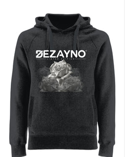 Organic Cotton Hoodie with Rose Style Dezayno Logo Limited Edition