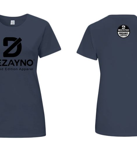 Dezayno Women's Organic T-Shirt With Classic Logo - Limited Edition