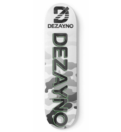 Dezayno Camo Pro Model Skateboard Deck