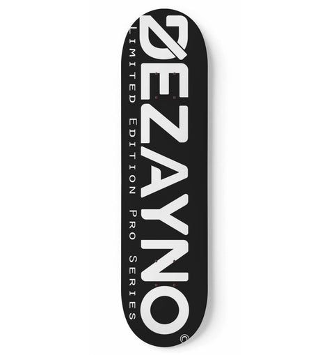 Dezayno Vital BLACK Pro Model Skateboard Deck (Limited Edition)