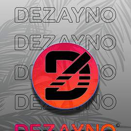 Dezayno PRO MODEL Skateboard Deck - Tropical