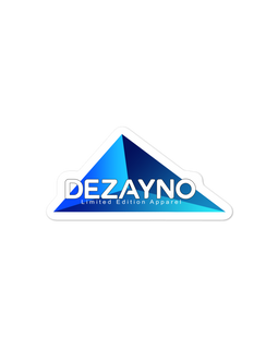"Stickers | High Quality, High Opacity Adhesive Vinyl Dezayno ""Italy"" Sticker"