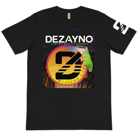 Dezayno We Love Florida Limited Edition Organic Cotton T-shirt in Black