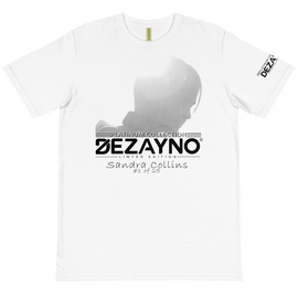 PLATINUM COLLECTION: SANDRA COLLINS LIMITED EDITION Organic T-Shirt by Dezayno