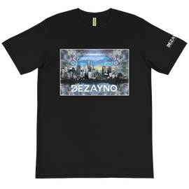 Skyline Graphic Tee in Black by Dezayno