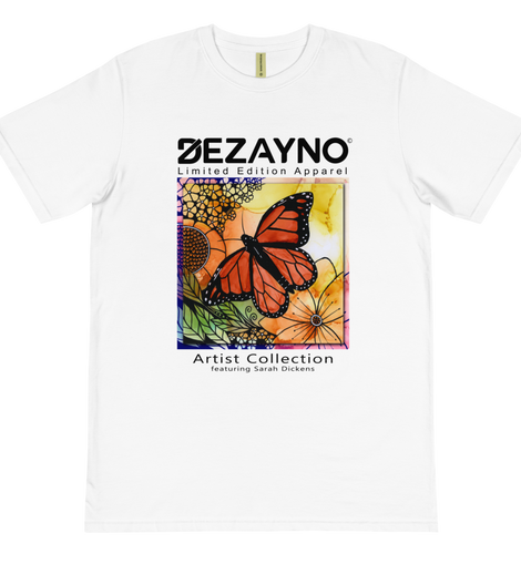 Dezayno Artist Collection: Sarah Dickens | Organic T-Shirt