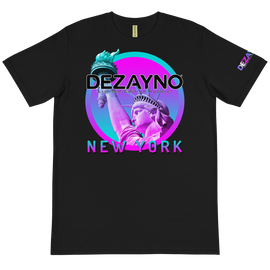Dezayno We Love New York Limited Edition T-Shirt on 100% Certified Organic Cotton