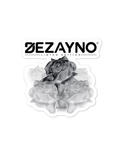"Stickers | High Quality, High Opacity Adhesive Vinyl Dezayno ""Rose"" Sticker (Limited Edition)"