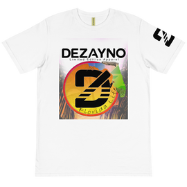 Dezayno We Love Florida Limited Edition Organic Cotton T-shirt in White