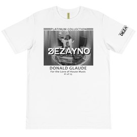 PLATINUM COLLECTION: DONALD GLAUDE LIMITED EDITION ORGANIC T-SHIRT BY DEZAYNO