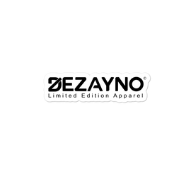 Stickers | High Quality, High Opacity Adhesive Dezayno Limited Brand Sticker