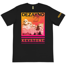 100% Certified Organic Keystone T-Shirt By Dezayno Limited