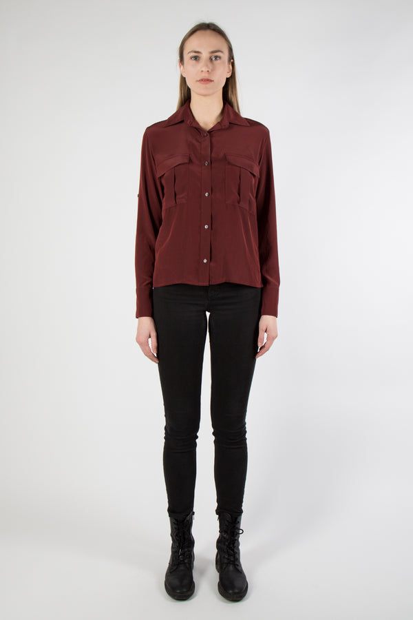 Njord Blouse - red
