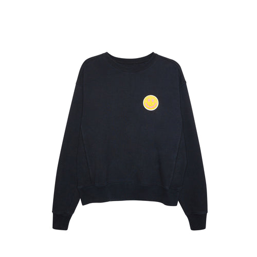 Smiley Crew Neck