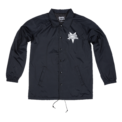 Zero Halo Black Windbreaker