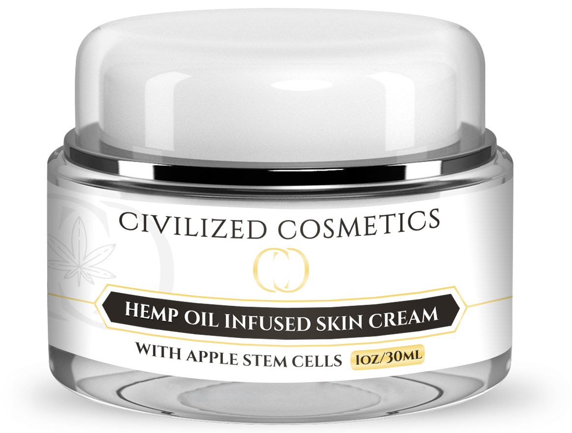 HEMP OIL - ANTI-AGING CREAM WITH APPLE STEM CELLS