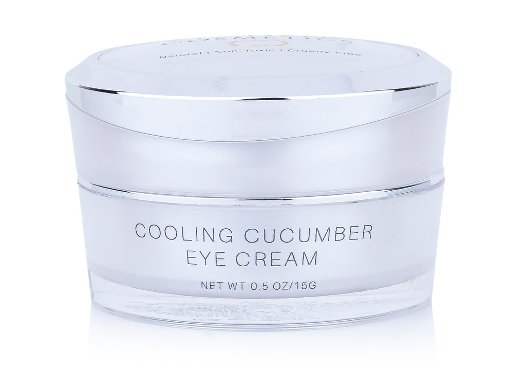 Cooling Cucumber Eye Cream 100% Natural, Vegan, Cruelty Free