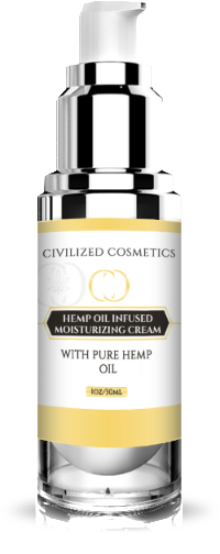 Moisturizing Skin Cream with Hemp