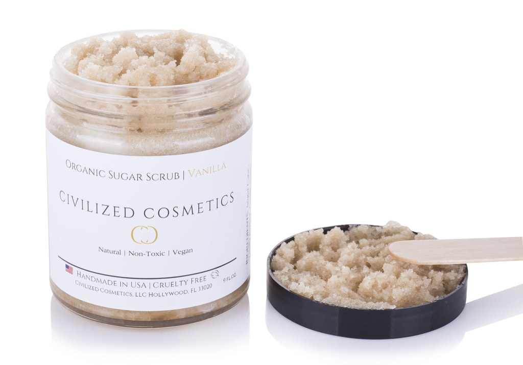Organic Face Scrub - Organic, Natural, Cruelty-Free & Plant based