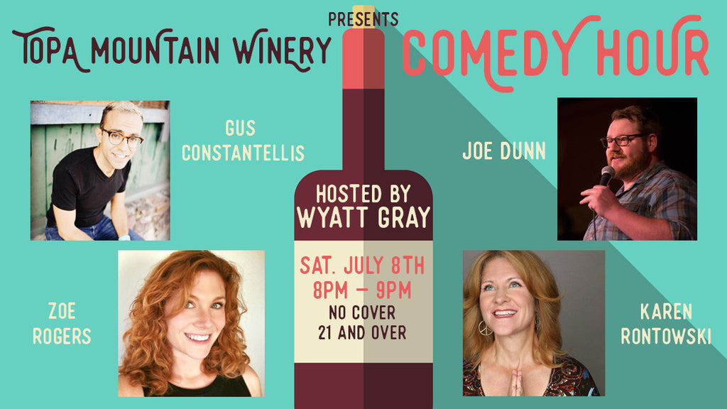 July Comedy Hour: Saturday, July 8th