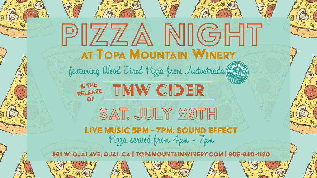 Pizza Night & TMW Cider