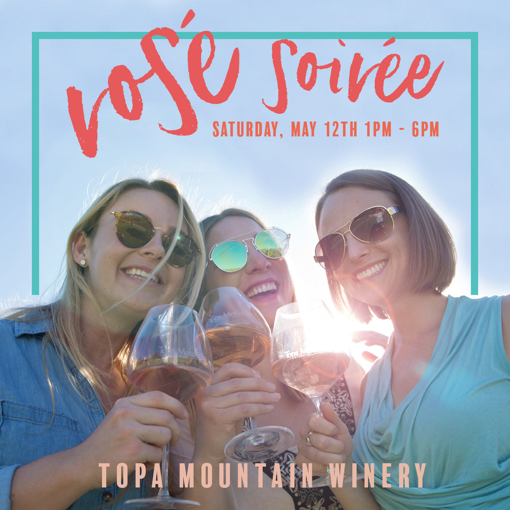 Rosé Soirée - Saturday, May 12th | 1pm - 6pm