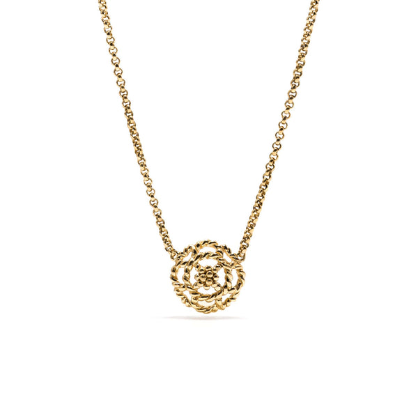 Capucine Petite Charm Necklace in Gold