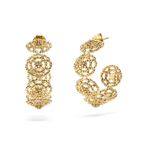 Capucine Hoop Earrings