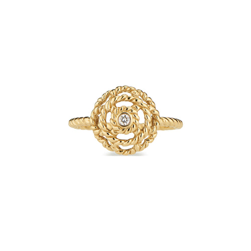 Capucine Petite Diamond Ring