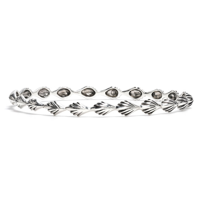 Comet Petite Bangle in Silver