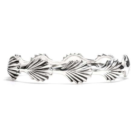 Kisses Petite Bangle in Silver
