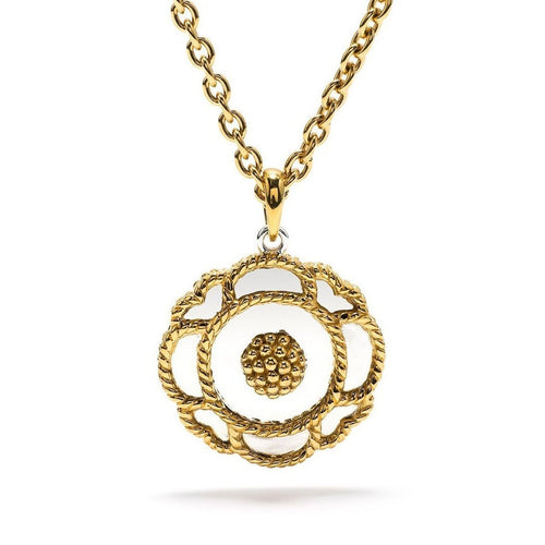 Capucine Solid Pendant Necklace