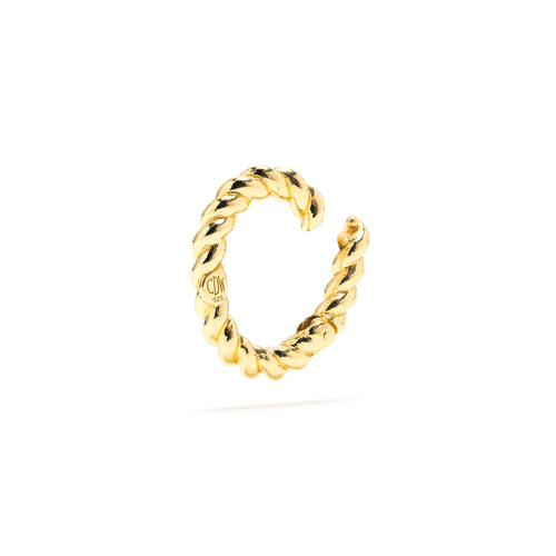 18k Rope Clasp in Gold